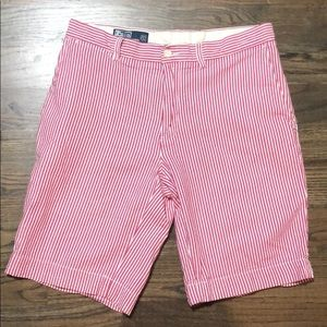 Ralph Lauren seersucker shorts. Size 33. Men's.